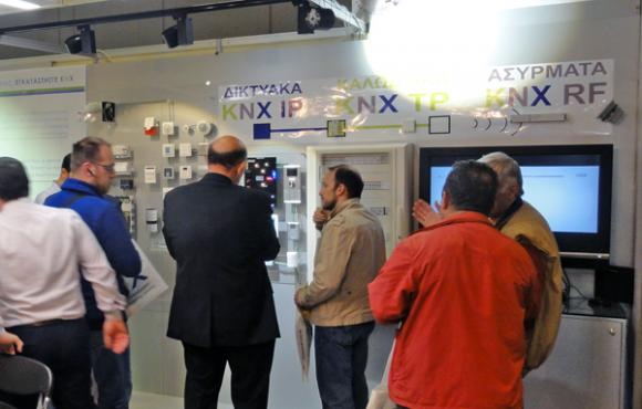 KNX Greece Spreads the Word at Electrotec 2014