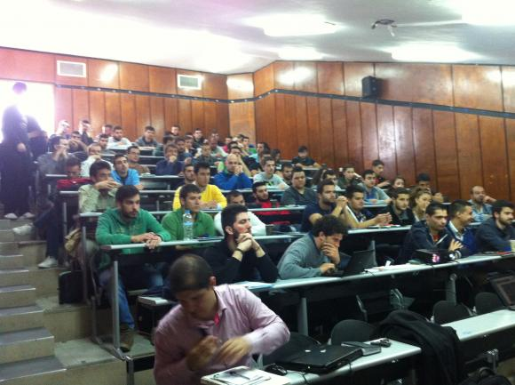KNX solutions for future engineers in Kozani
