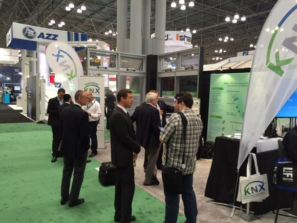 KNX National Group USA participating at LIGHTFAIR International in New York