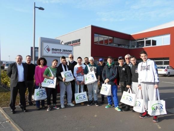 KNX as topic of an exchange programme between Greece and Luxembourg