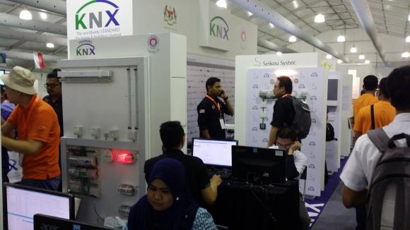 KNX Roadshow arrived its final stop at ASEAN Skills 2016