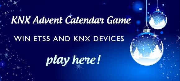 KNX Advent Calendar Game: win ETS5 and KNX Devices