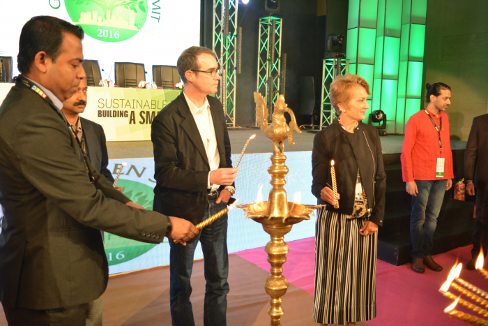 KNX India at Lamp Lighting Ceremony