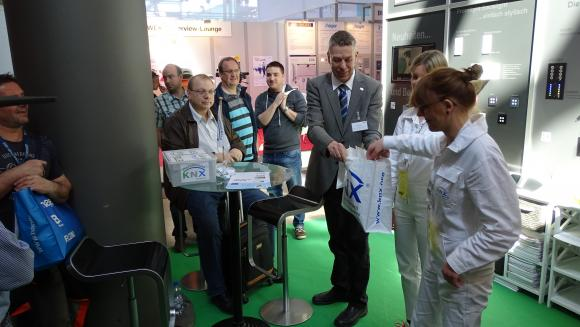 German KNX Professionals highlighting KNX at ELTEFA