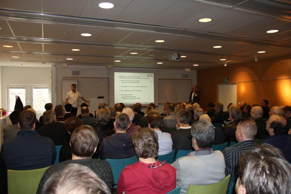 Launch event in Stockholm