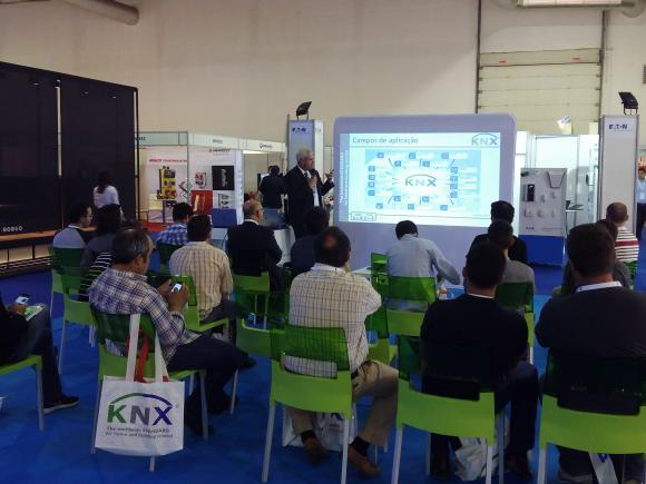KNX conference during exhibition