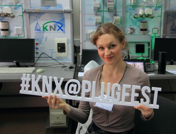 KNX live in action at Russian PlugFest