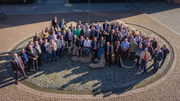 the participants at the training centre conference