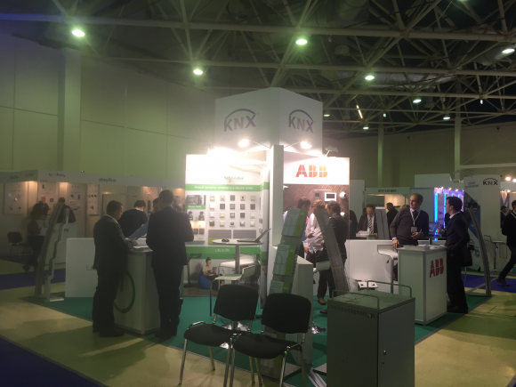 HiTech 2017 in Moscow welcomes KNX