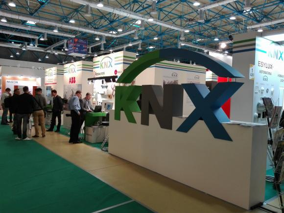 KNX Booth at Interlight