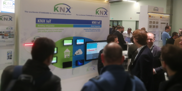 KNX a massive hit at ISE 2018