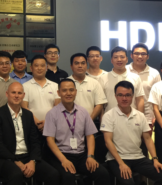 KNX co-organizes large KNX training conference for HDL staff