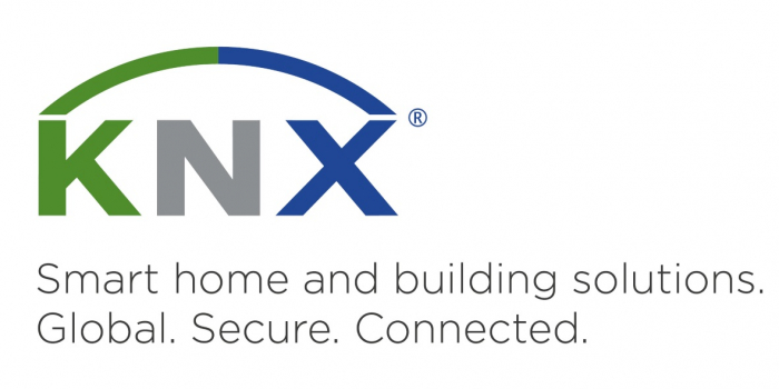 KNX Logo and Slogan
