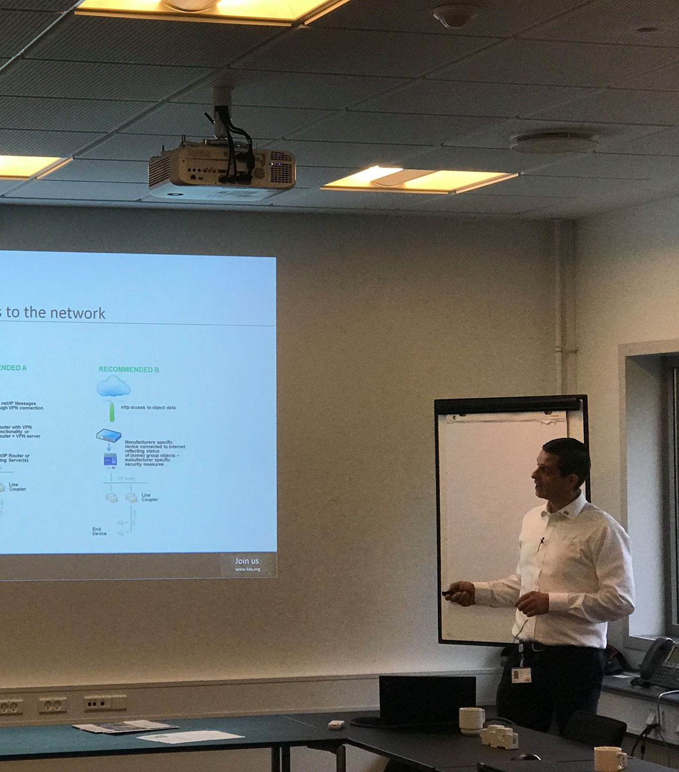 3 days, 3 events - KNX Denmark brings security to homes