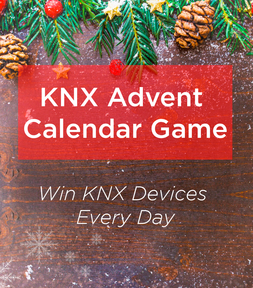KNX-adventskalenderspel - Win elke dag KNX-producten