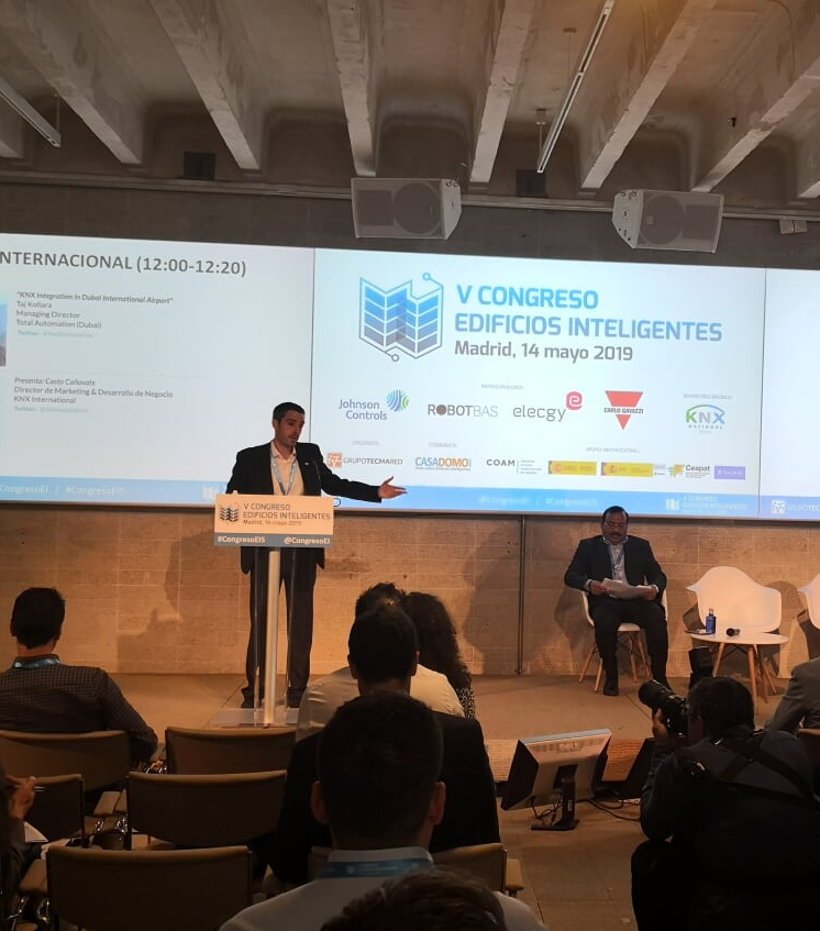 KNX at the 5th edition of the Smart Building Conference in Madrid, Spain
