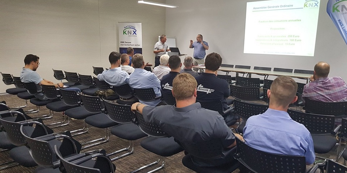 KNX Luxembourg ready for new challenges